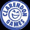 Clarendon Games logo - white bg - small